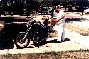 Dad and Yamaha in 80's